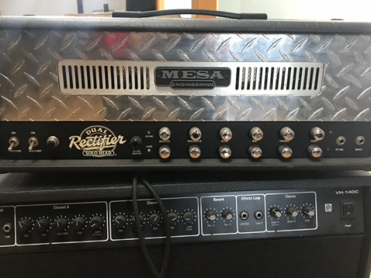 Dual rectifier 2 canales