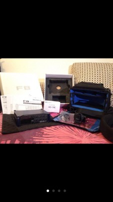 Grabador Zoom F8 con Bolsa