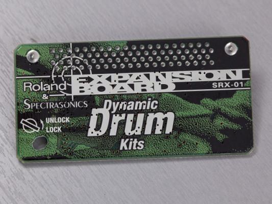 "Expansión Roland SRX-01 ""Dynamic Drums"""