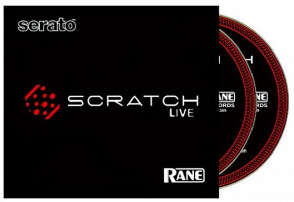 scratchlive 2 cd´s