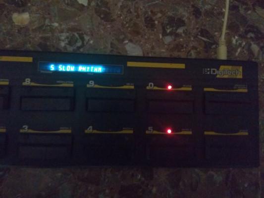 Pedalera Control para digitech legend 21
