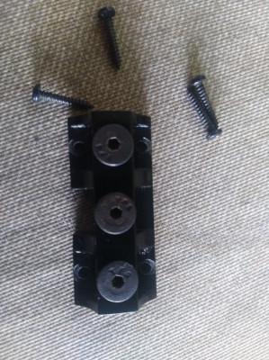 Kahler String Lock Black (Cejuela de bloqueo puentes Khaler)