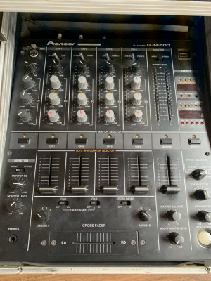 PIONEER DJM 500 + CDJ 200