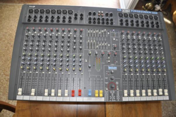 soundcraft spirit 1200w