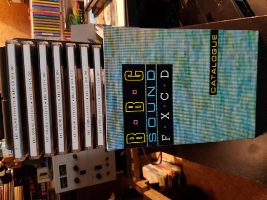 BBC SOUND FX CD CATALOGUE