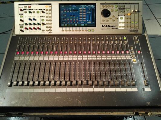 Roland Mixer V400 + Digital Snake 32/8