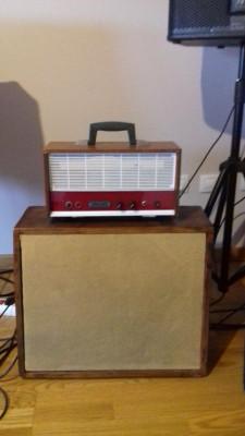 Amplificador guitarra a valvulas años 70