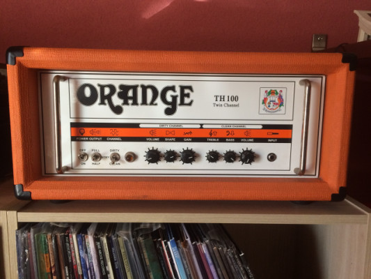 Cabezal amplificador ORANGE TH100