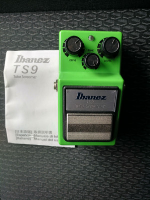 Tube screamer ibañez ts9