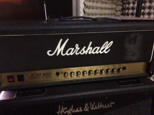 Marshall JCM-900 Hi Gain Dual Reverb + Pedal canal/reverb