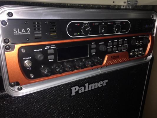 ElevenRack+Sla2+Ground Control Pro+Pantalla Palmer con Beyma ga12
