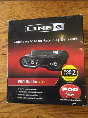 Líne 6 Pod Studio UX1