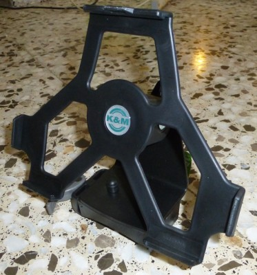 K&M Ipad Holder para soportes Spider Pro