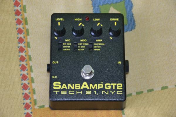 RESERVADO Sansamp GT2 Tech 21
