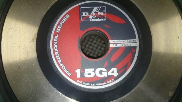 1 Altavoz D.A.S  Mod G4 500W Rms 4 ohm