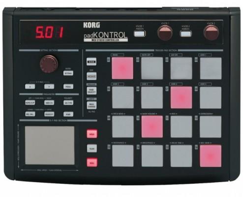 Controlador Korg Pad Kontrol Negro - NUEVO