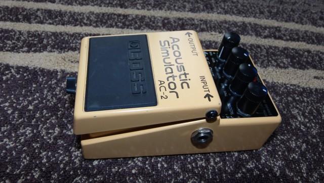 """Boss AC-2 """"Acoustic Simulator"""""""