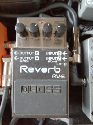 Pedal Reverb Boss Rv6_ Reservado