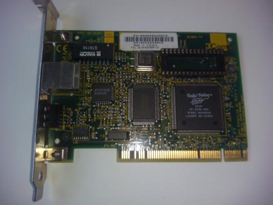 TARJETA DE RED PCI RJ45 3COM LAN