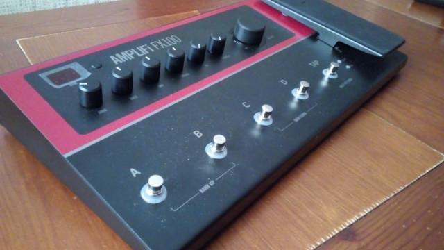 Pedalera multiefectos Line 6 Amplifi fx100