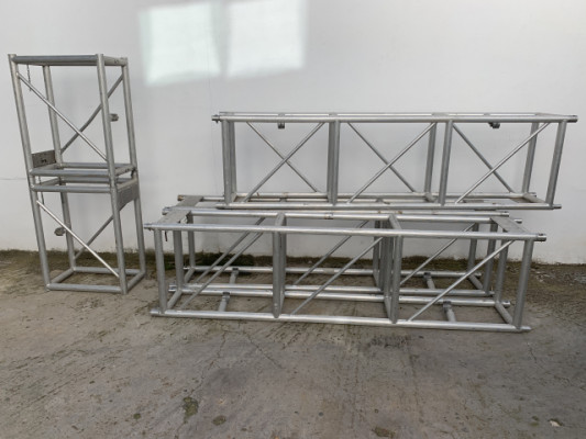 Estructura puente Truss