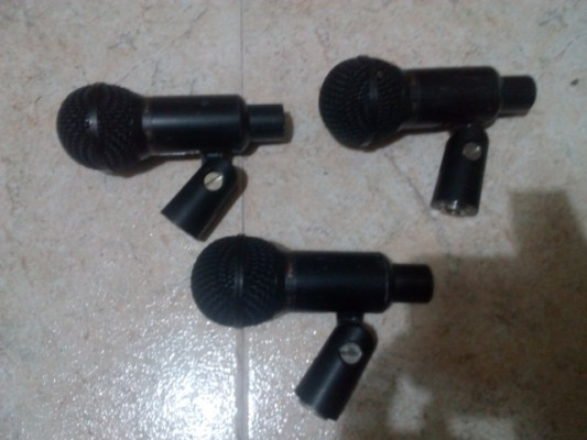 o cambio: Pack 3 micros toms AVJEFE PMM-10