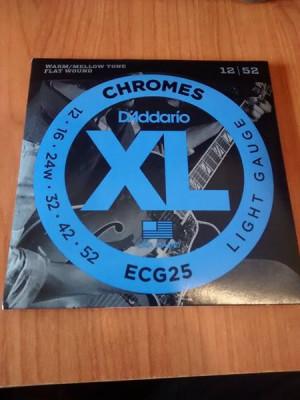 D´Addario Chromes ECG25 (12-52) nuevas - Envio Gratis