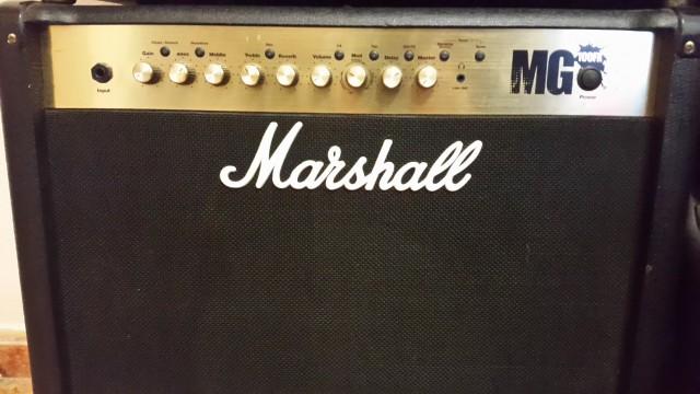 Marshall mg100 fx