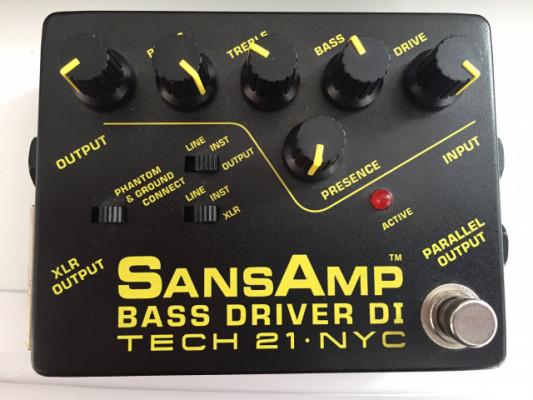 Sansamp bass driver DI Tech 21