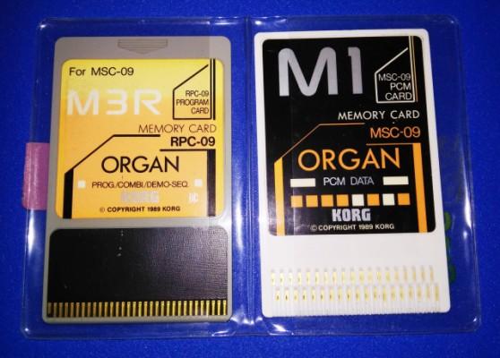 CARD SOUND KORG M3R/M1