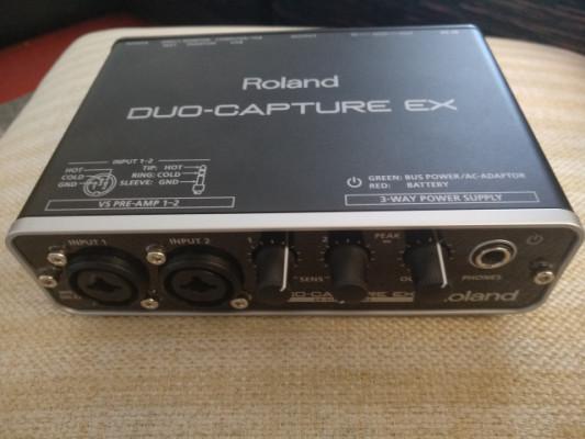Roland Dúo Capture EX + adaptador iPad