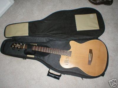Vendo guitarra Godin A6