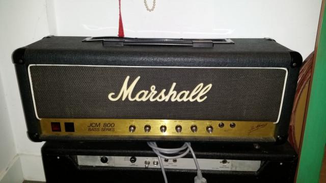 Marshall jcm 800 bass series modelo 1992