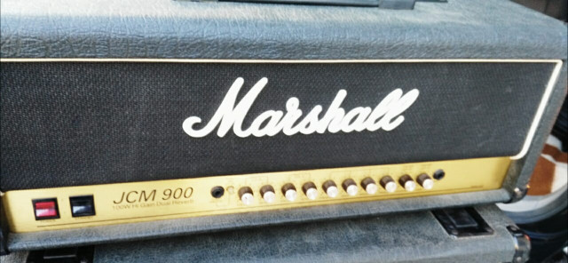 cabezal !!! Marshall JCM 900 Hi Gain Dual Reverd 100 w valvulas.