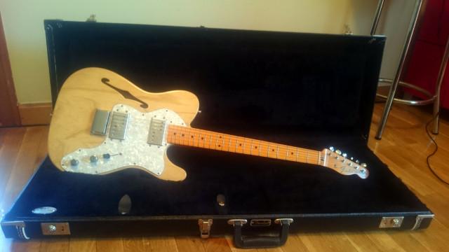 Fender Telecaster Thinline 72 American Vintage reissue