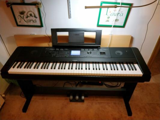 Yamaha DGX660 con LPT-7A y más - REBAJADO