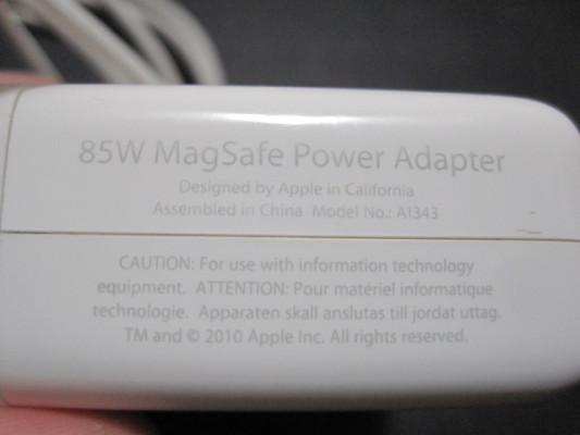 Cargador original Magsafe 1 85W