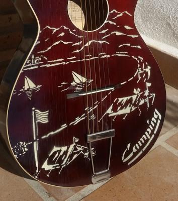 guitarra de culto - Framus Camping, Alemania, año 1.962