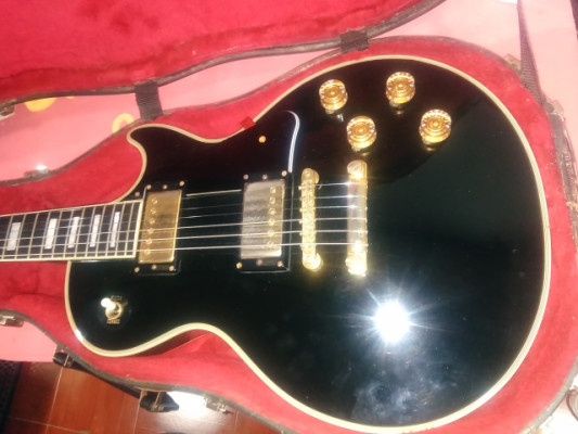 "fernandes les paul custom ""black beauty"" japan"
