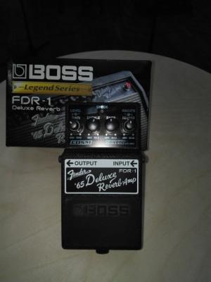 Boss Fender 65 Deluxe reverb