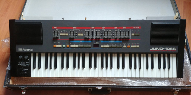 JUNO 106S with KIWI-106 serviced