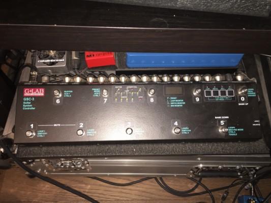 G-Lab GSC-3 switcher de pedales, cambia canales del ampli y MIDI