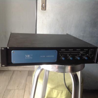 AMPLIFICADOR ETAPA DE POTENCIA 250W X 4 (4 OHM) - MC2 (T4-250)