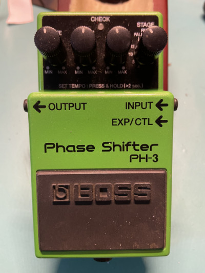 Boss ph-3 phaser VENDO