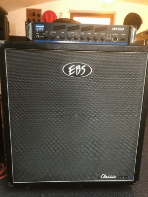 EBS HD350 y Pantalla 4x10