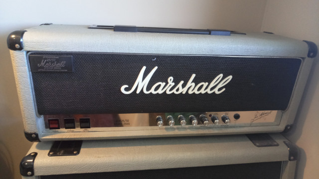 Marshall Silver Jubilee 25\50 100W 1987