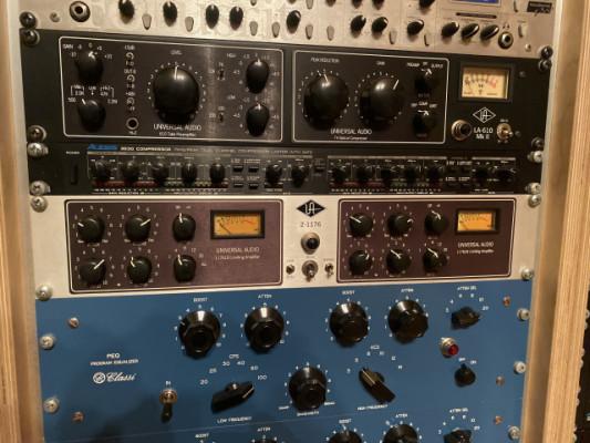 Universal Audio 2-1176 compresor de estéreo en buen estado