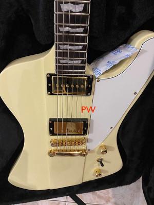 Vendida/ guitarrón-Esp LTD Phoenix-1000-vintage white por Kemper/fractal
