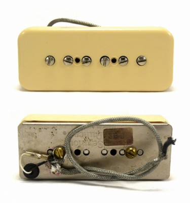 Pastillas Gibson Mini-humbucker, P90s, T-tops, PAFs; Dimarzio, Seymour Duncan 70-80s