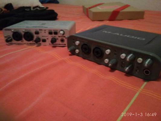 Fast track Pro y Edirol UA 25